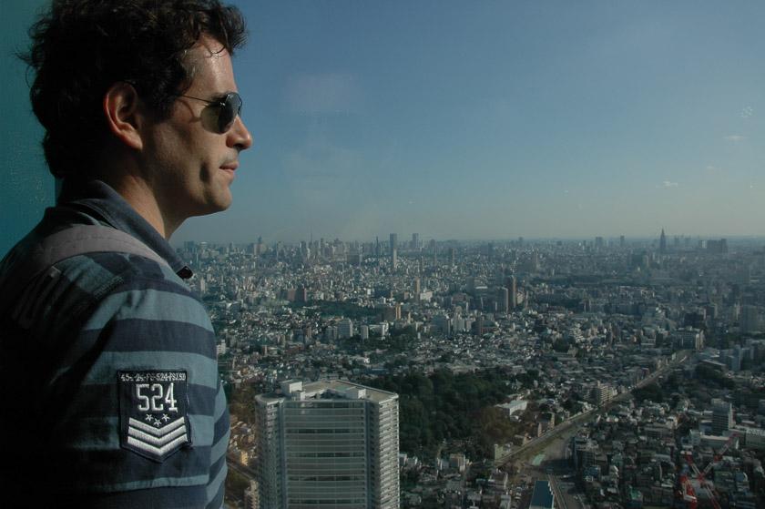 Mirando Tokio desde las alturas