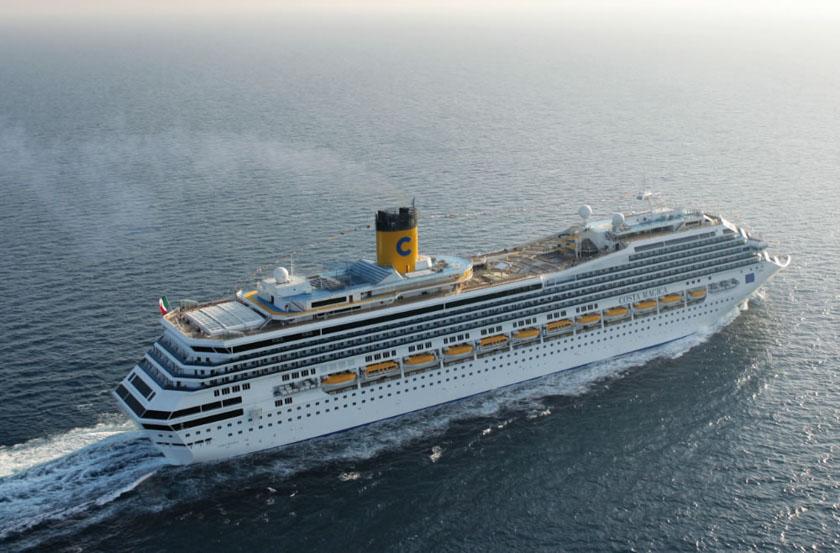 Nuestro barco en el crucero por el mar báltico