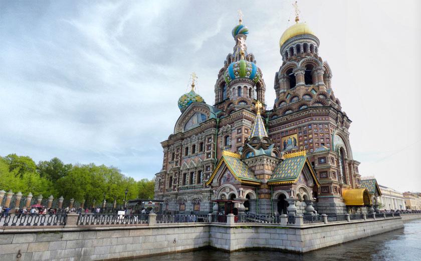 Catedral de la Sangre Derramada, San Petersburgo
