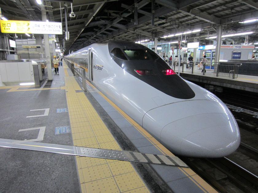 Tren bala para saber como ir de Tokio a Nikko