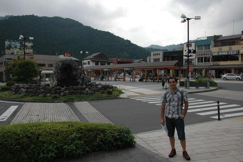 Llegando a Nikko