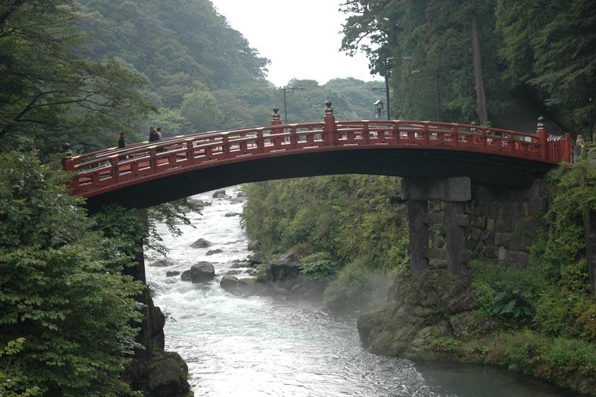 Precioso el Puente de Shinkyo