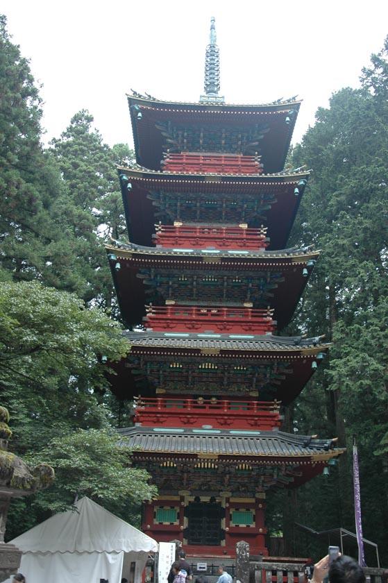 Pagoda de cinco pisos en Nikko