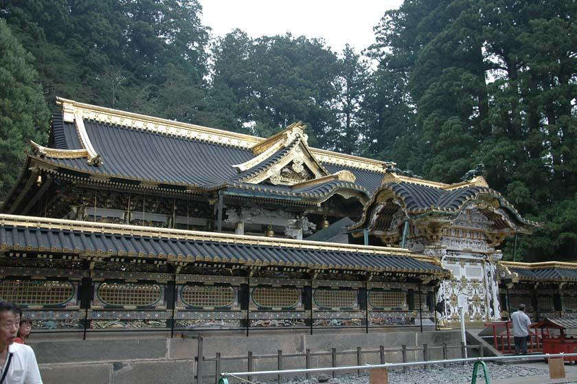 Uno de los muchos edificios de Nikko