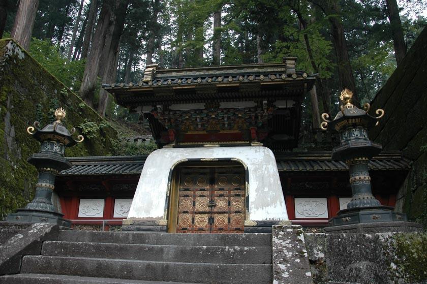 Bonito edificio del Santuario de Iemitsu