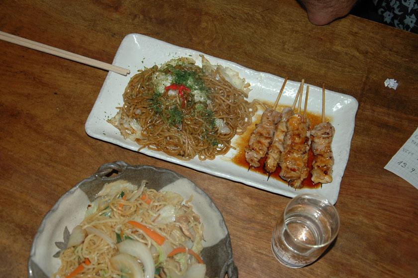 Degustando la gastronomía local en Nikko