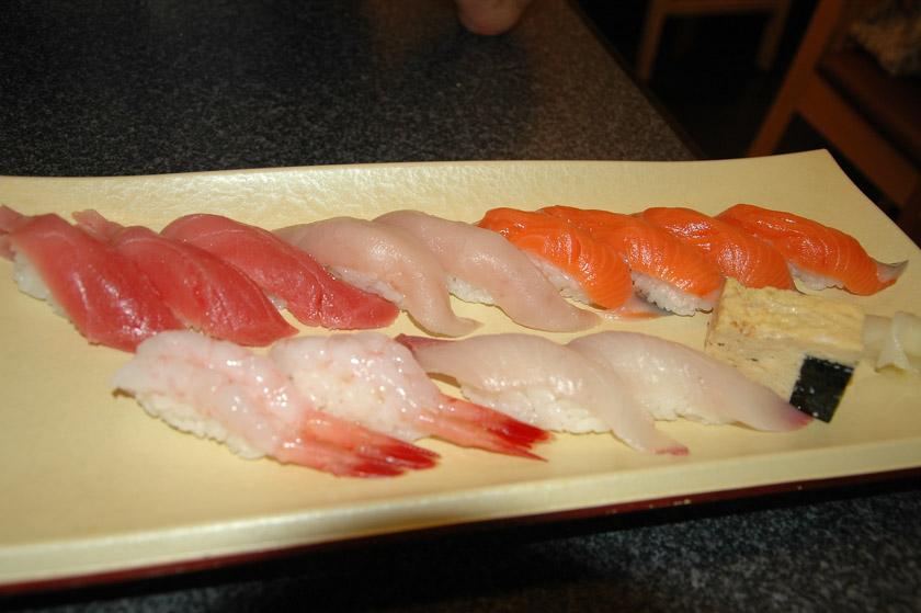 Decimos adiós al delicioso sushi de Tokio