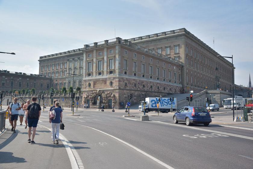 Cómo nos gustó el Palacio Real de Estocolmo