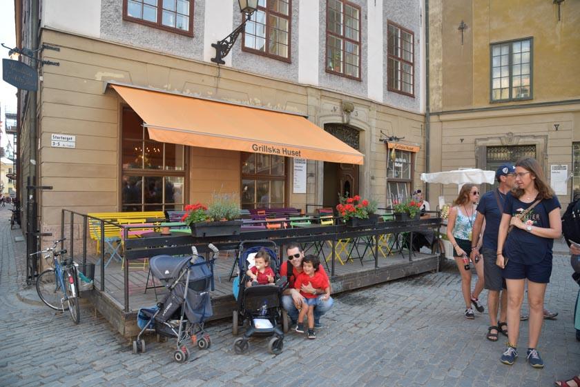 Plaza de Stortorget en Estocolmo