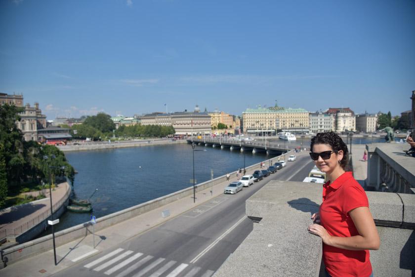 Vistas desde el Palacio Real
