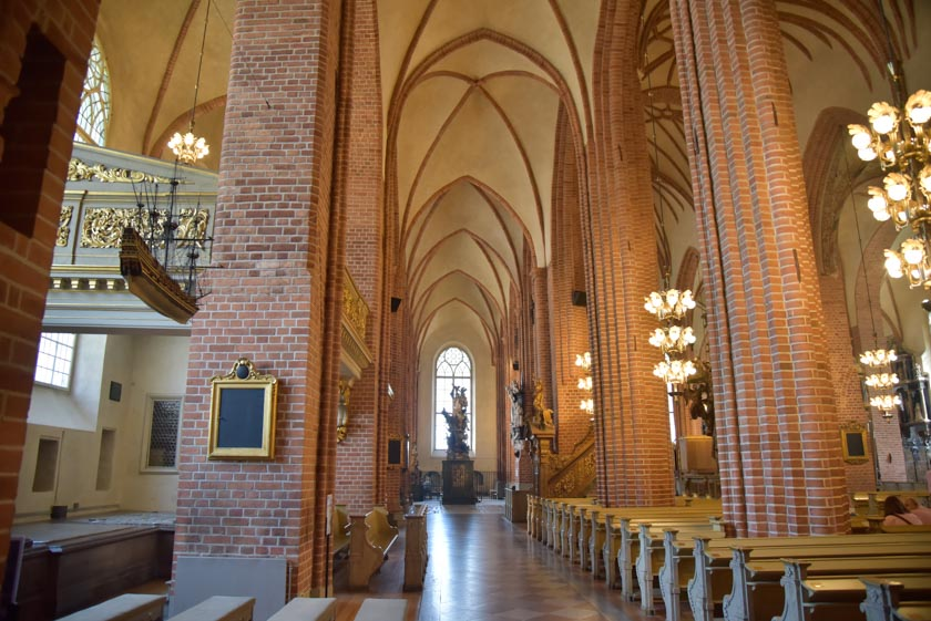 Interior de la Catedral de Estocolmo