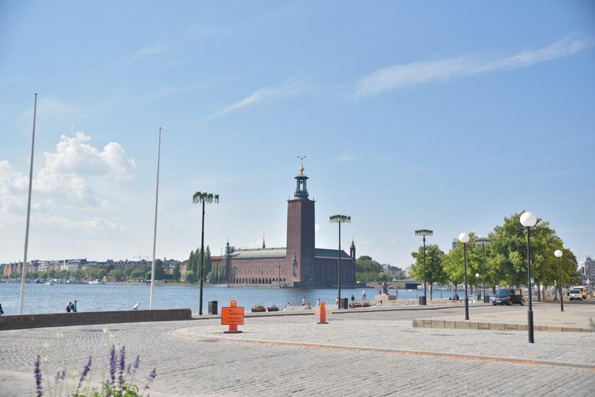 Vistas del Ayuntamiento de Estocolmo