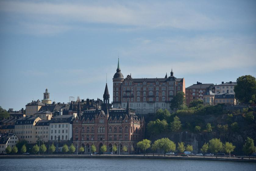 Paseando por la bahía de Estocolmo