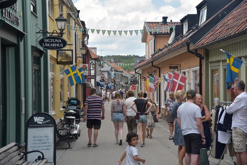 Calle principal de Sigtuna