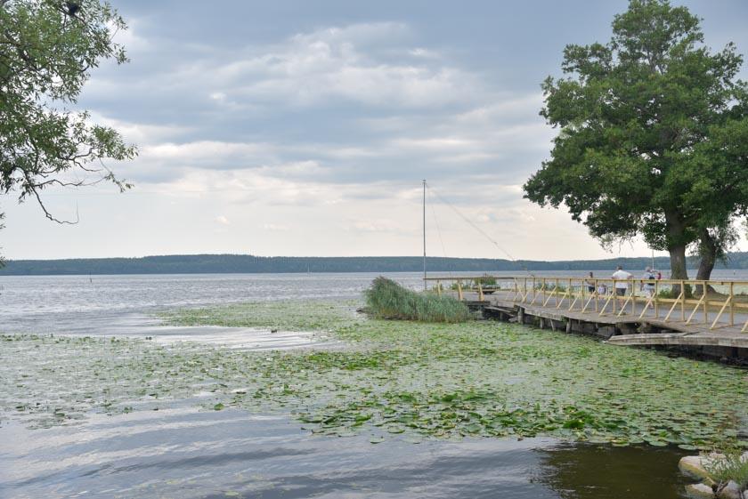 Paseando por el lago Malaren en Sigtuna