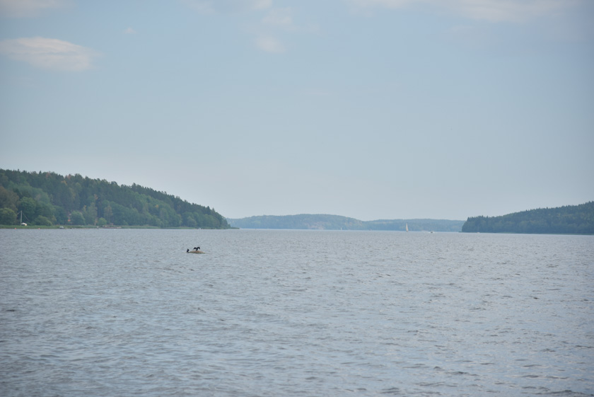 Espectaculares vistas del lago Malaren