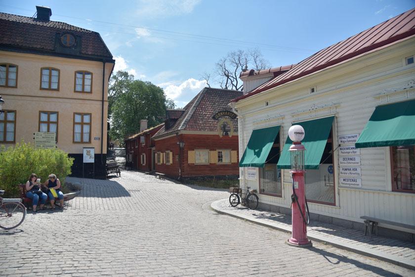 Visitando el museo al aire libre de Skansen