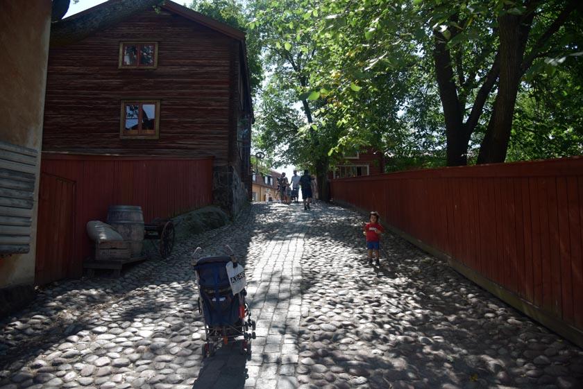 Una calle cualquiera de Skansen