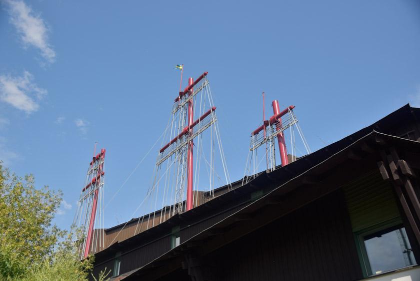 Bonitos detalles del museo Vasa