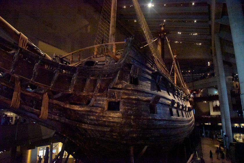 El Vasa luciendo en todo su esplendor
