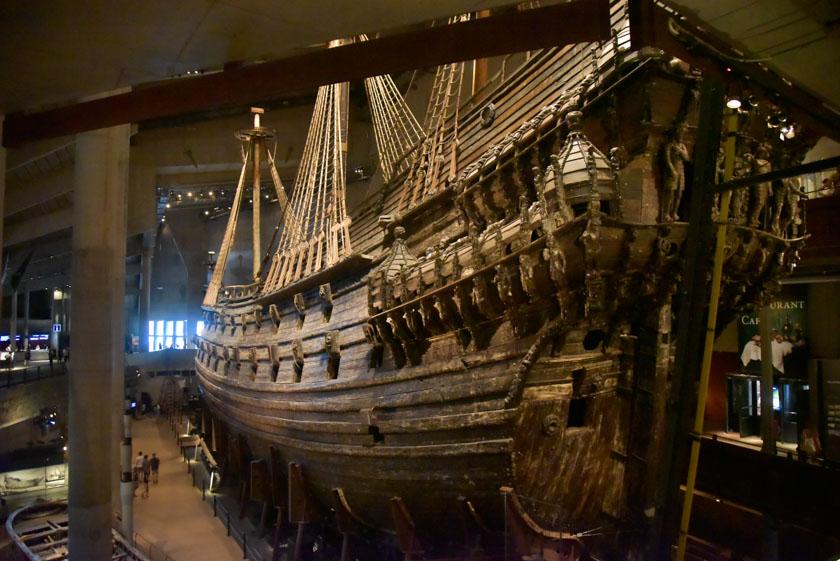 Preciosa panorámica del Vasa