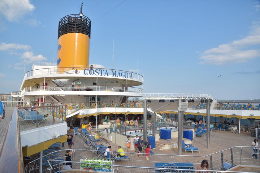 Una vista de nuestro crucero