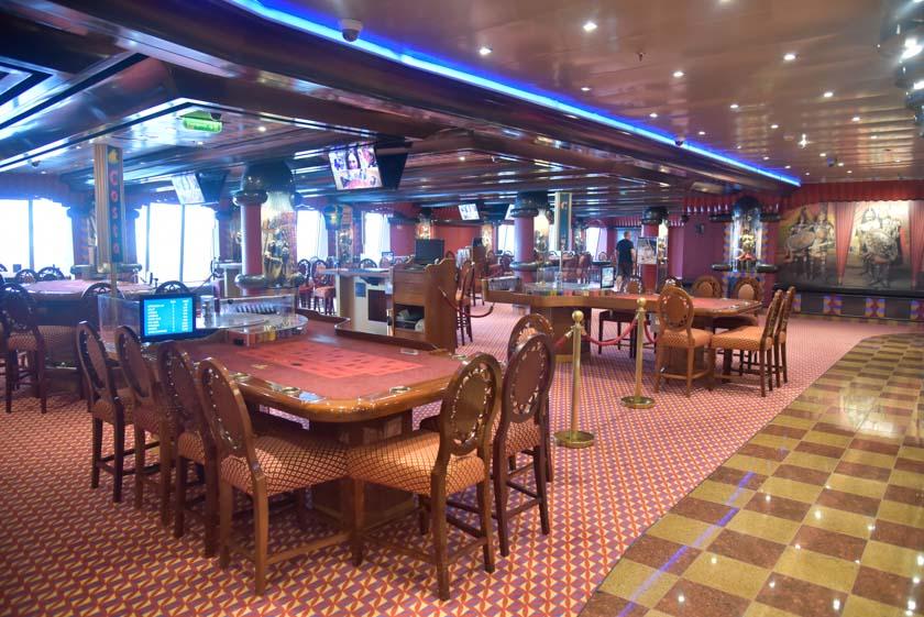 El casino del Costa Mágica