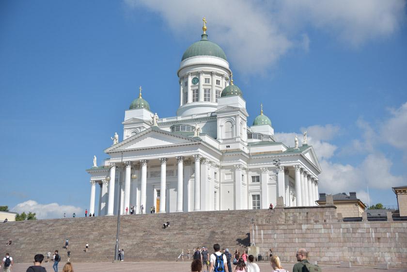 Vistas de la Catedral de Helsinki