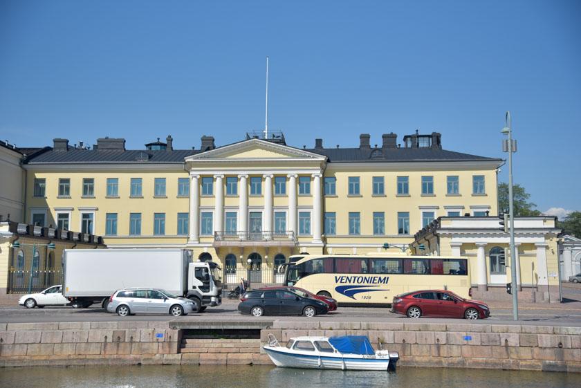 Una de las residencias del Presidente de Finlandia