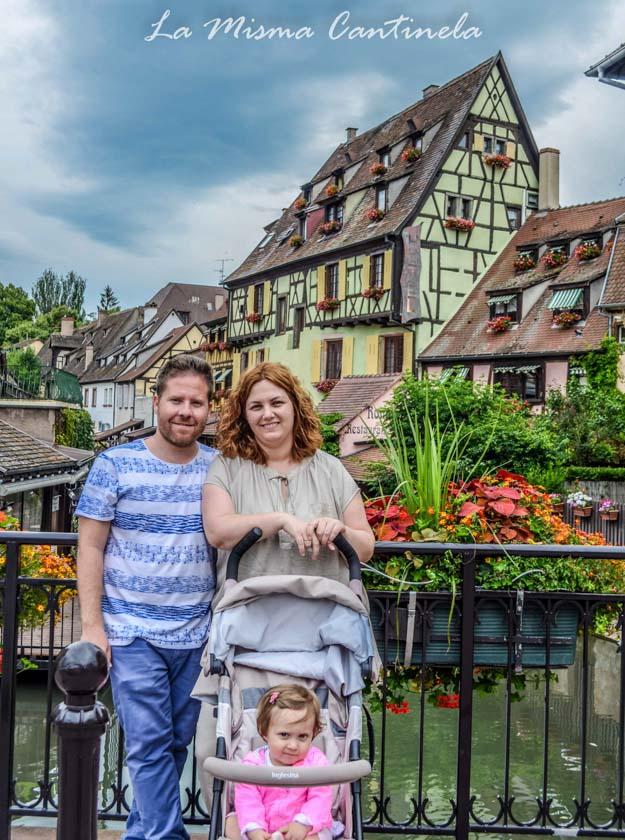 La Misma Cantinela disfrutando en la Alsacia
