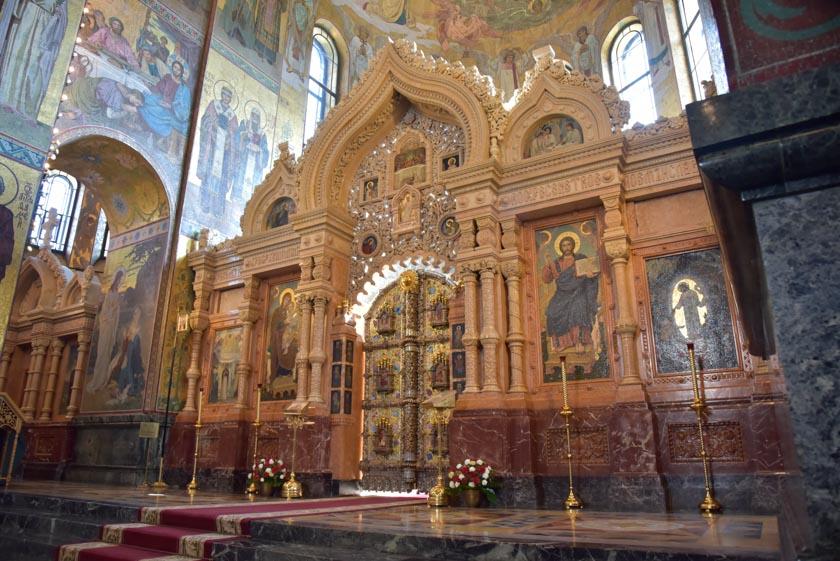 Nos encantó el Púlpito de la Iglesia del Salvador