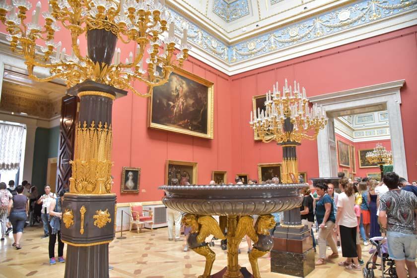 Qué bonito es el interior del Hermitage