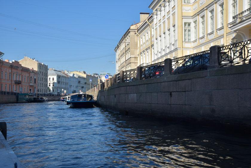Un paseo muy recomendable por el Río Neva
