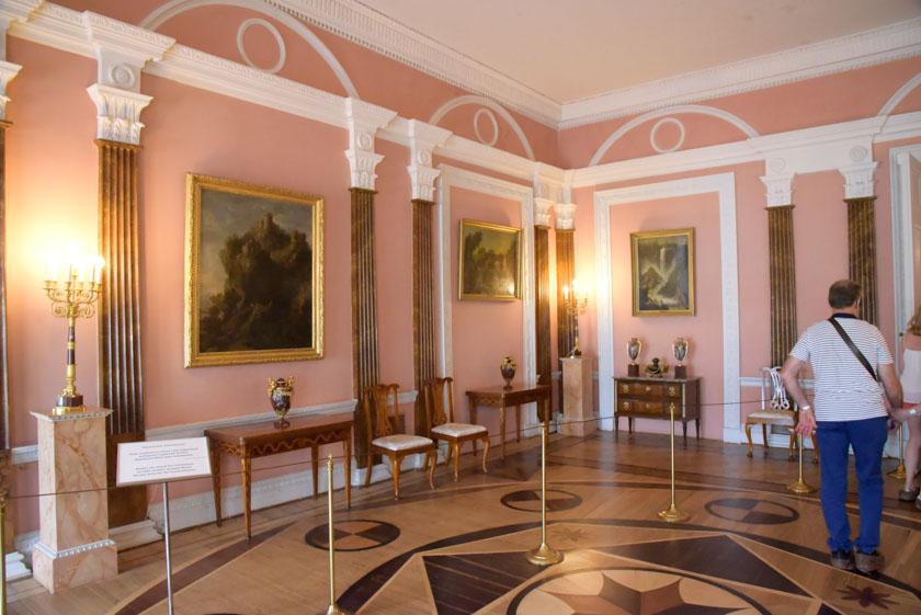 Ahora os muestro la sala rosa
