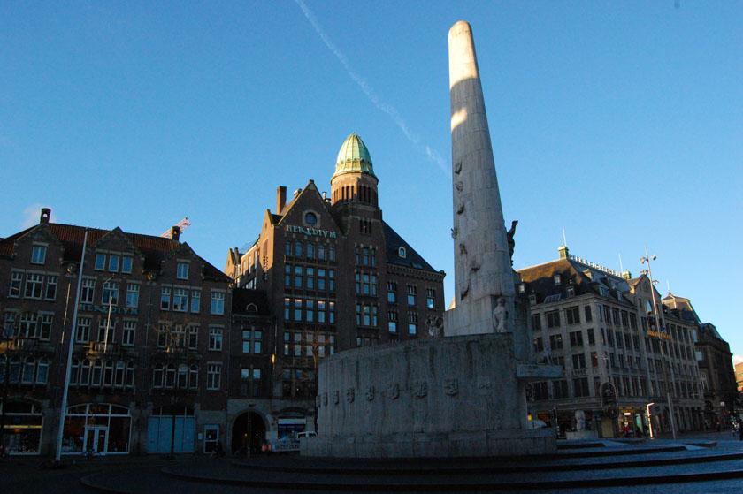 Plaza principal de Ámsterdam, la Plaza Dam