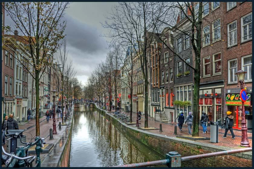 Uno de los barrios más conocidos de Ámsterdam