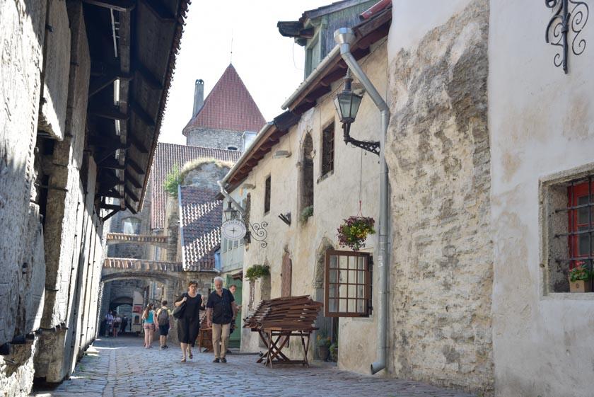 Una de las calles más bonitas de Tallin