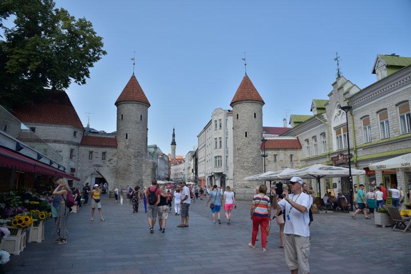 Puerta Viru, un imprescindible de Tallin