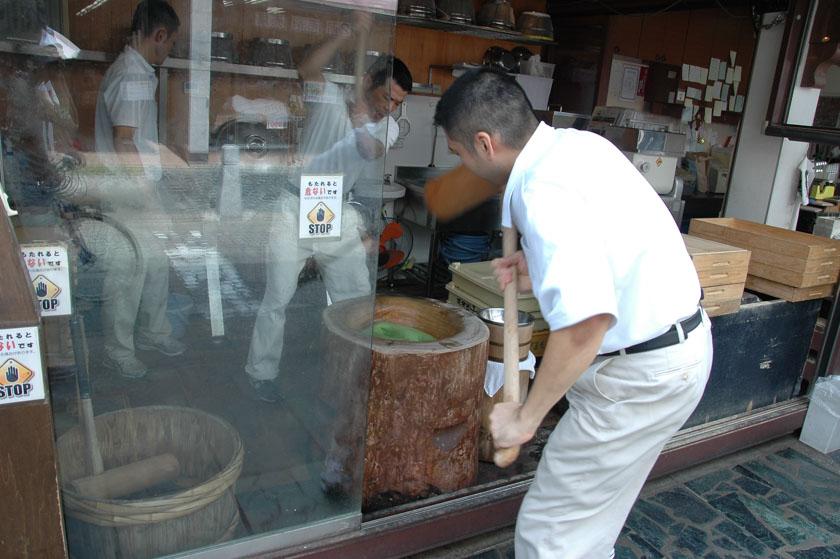 Paseando por Nara ves cosas muy curiosas