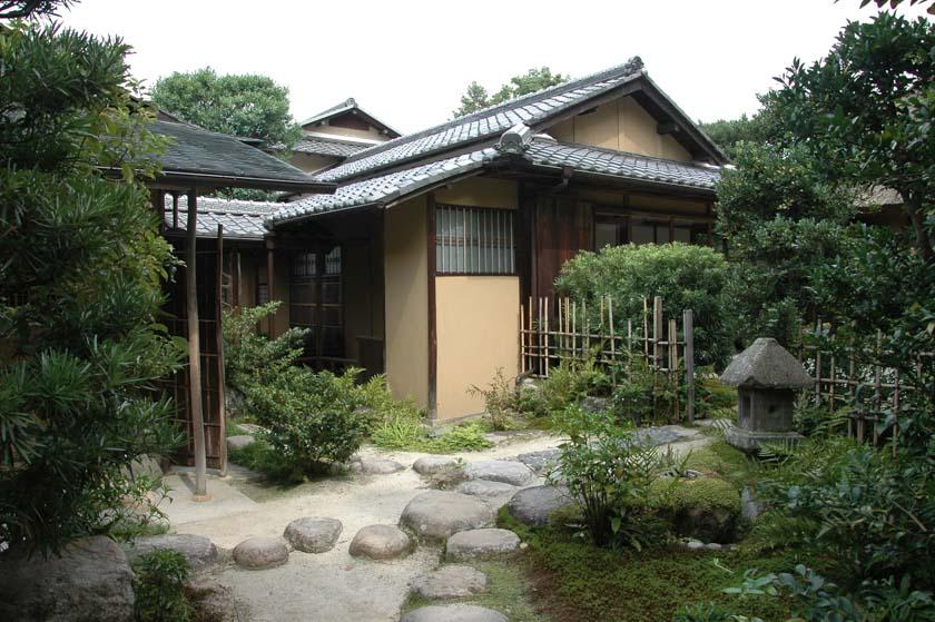 Preciosa casa de té en Nara