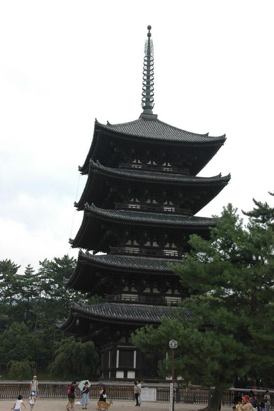 Una bonita pagoda en Kofuku-ji
