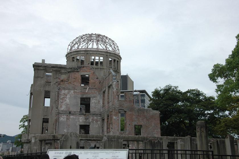 Famoso edificio que quedó en pie tras la caída de la bomba atómica