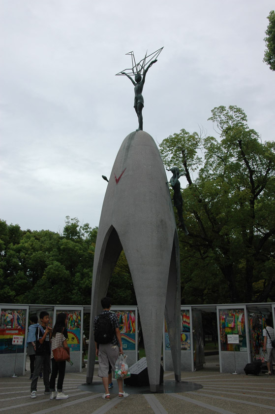 Estatua conmemorativa a Sadako Sasaki