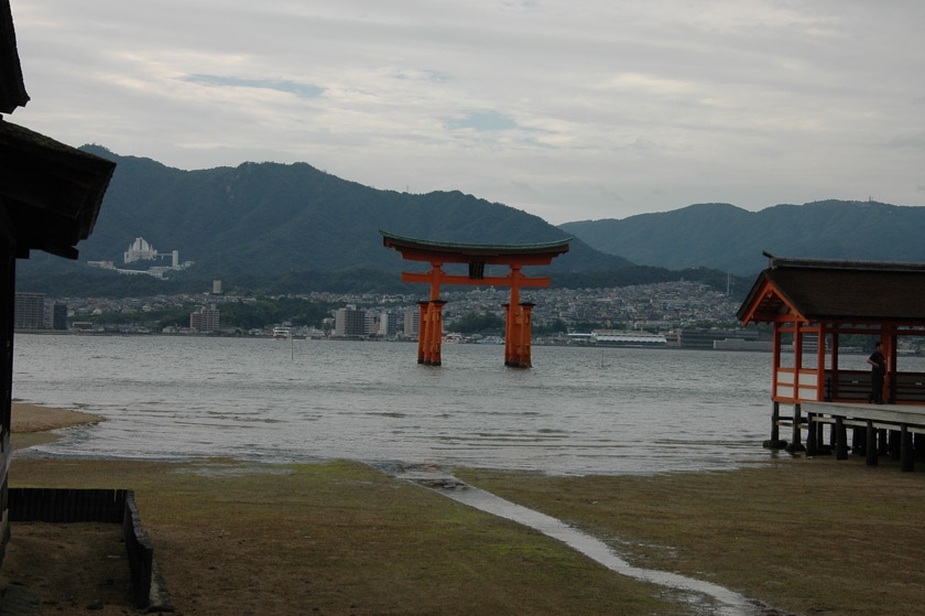 Pasamos alguna que otra hora contemplando este torii