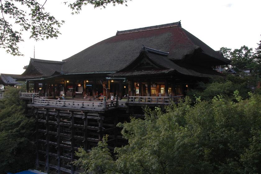 Edificio principal de Kiyomizudera