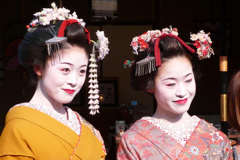 Geishas en Kioto