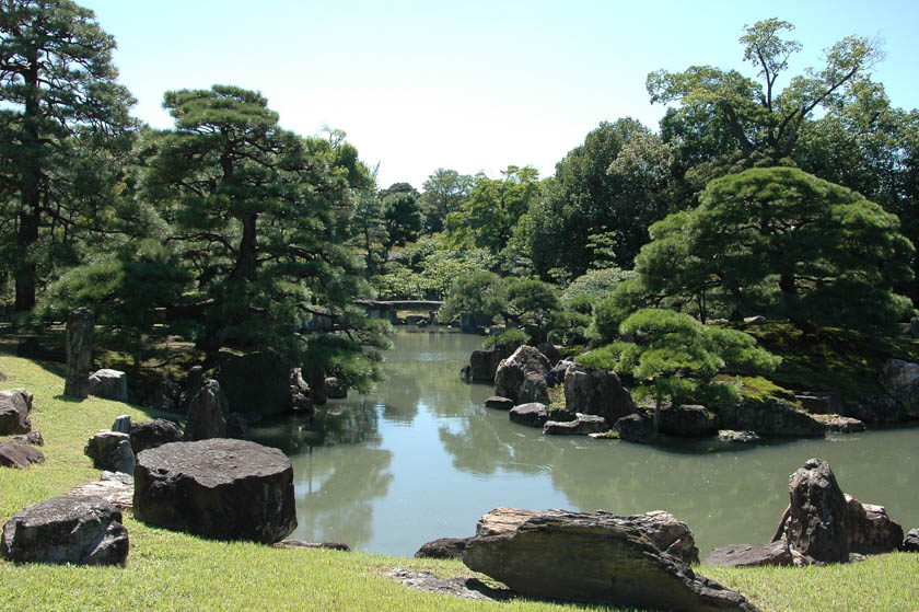 Precioso jardín el del Castillo de Nijo
