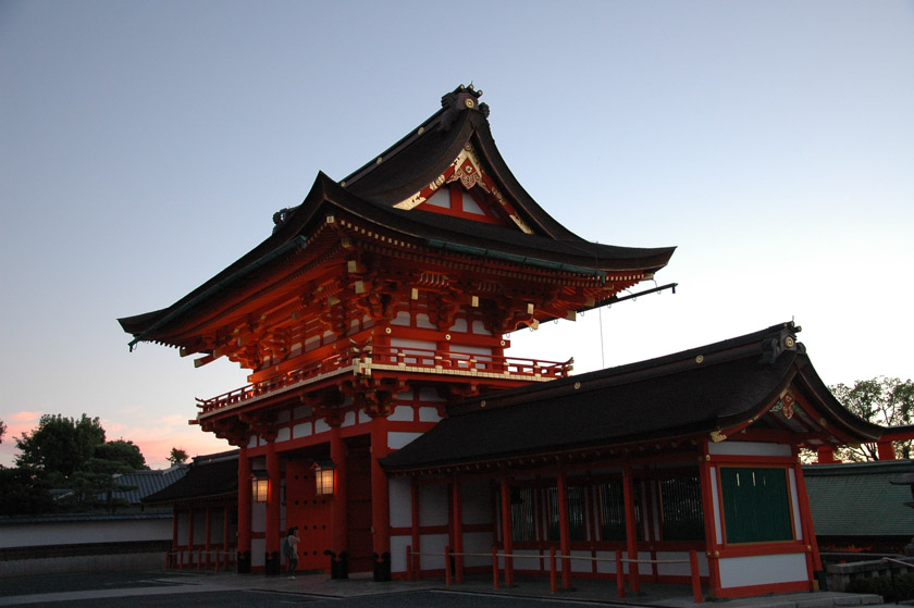 Puerta principal de Fushimi Inari