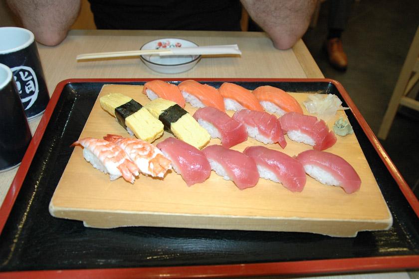 Enamorados de la gastronomía japonesa