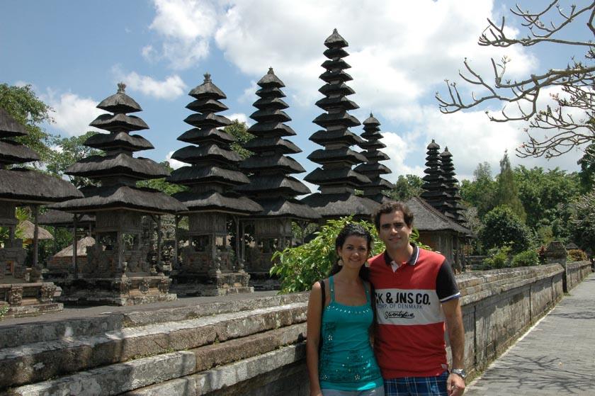 Un templo lleno de pagodas